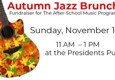 November 1 Jazz Brunch Fundraiser for The After-School Music Program