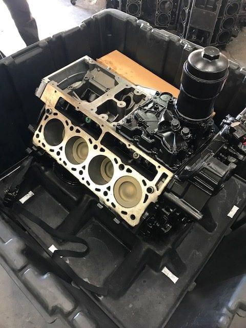 A powerstroke diesel engine