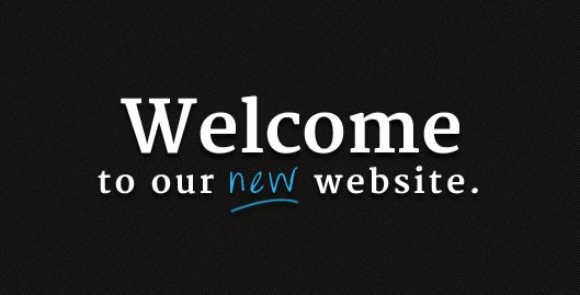 Our Brand New Website!