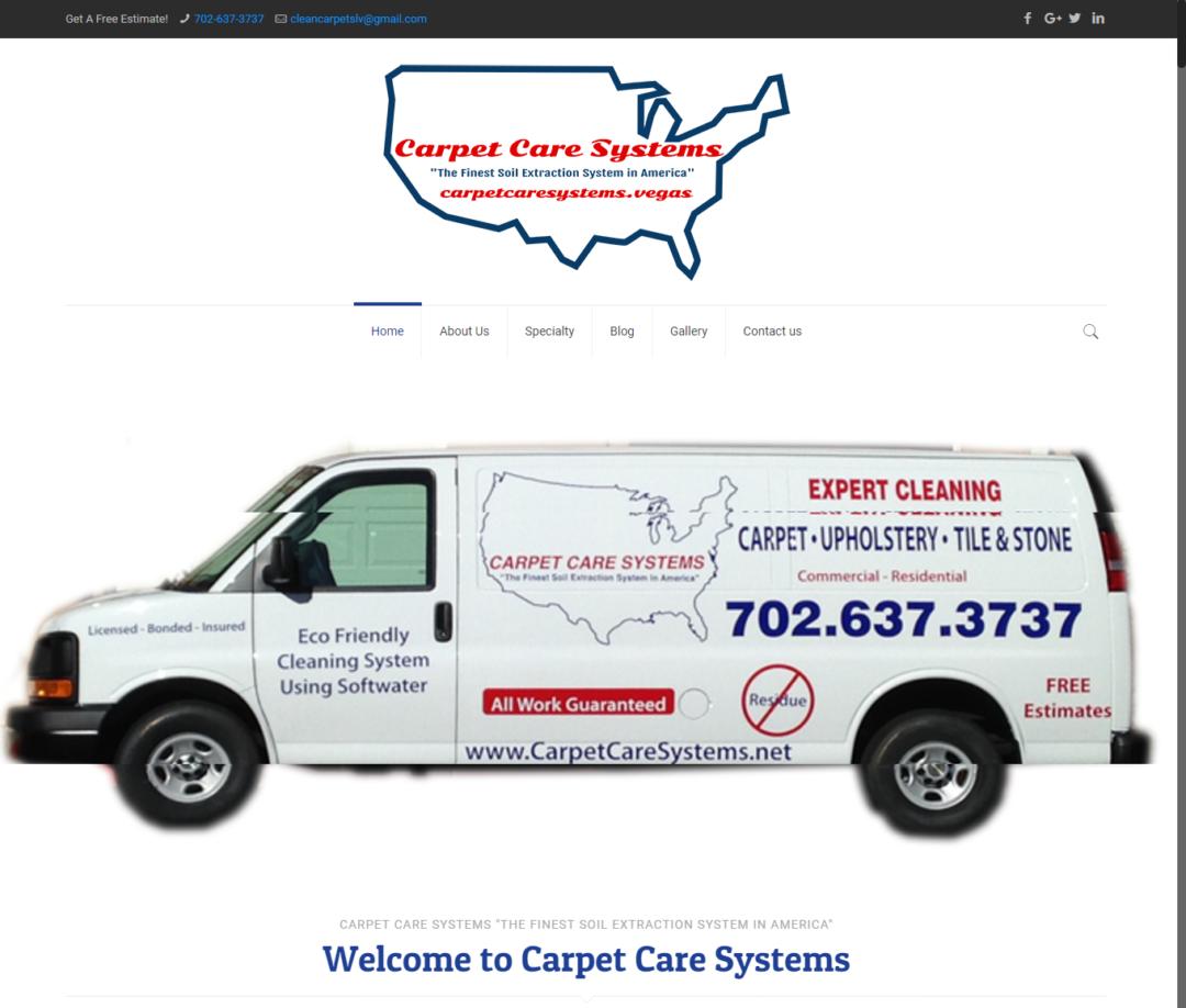 Carpet Care Systems