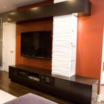 Custom Furniture Orange Accents
