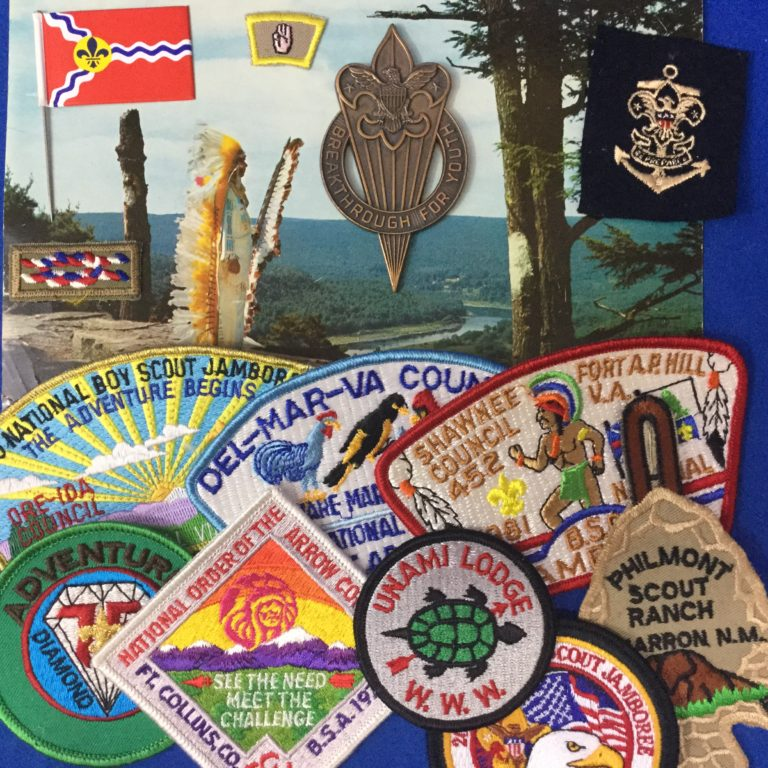 WE BUY BOY SCOUT COLLECTIONS