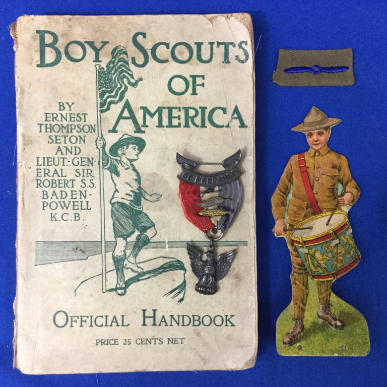 Vintage Scouiting Collectibles