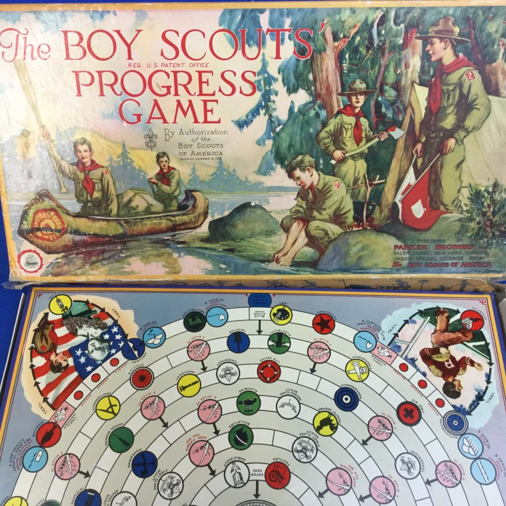 Boy Scout Progress Game