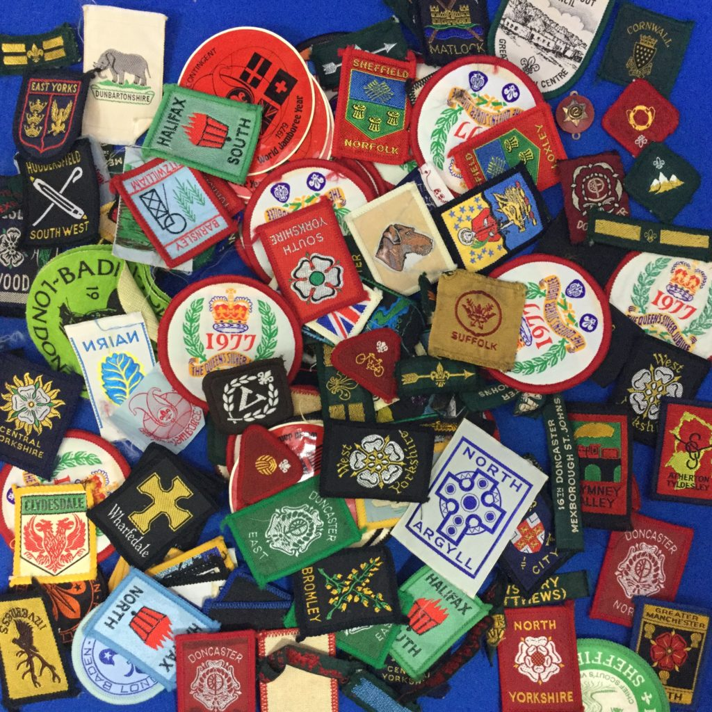 International Boy Scout Patches