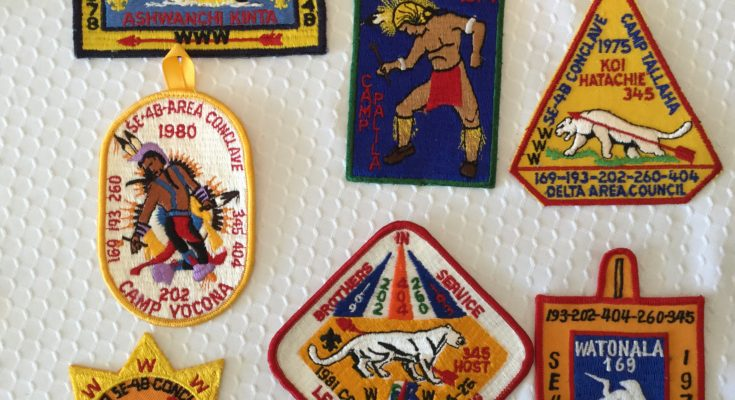 OA Section SE-4B Patches