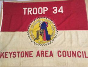 1950 Jamboree Flag Keystone Area Council
