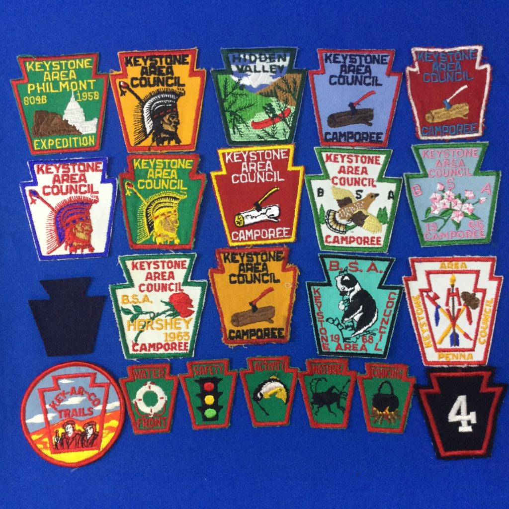 Keystone Area Council Patches
