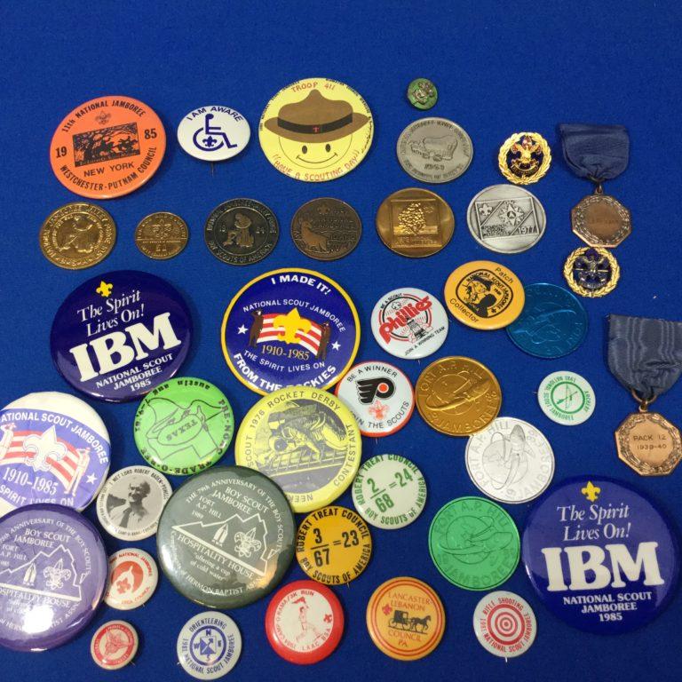 Coins, Buttons, & Pins