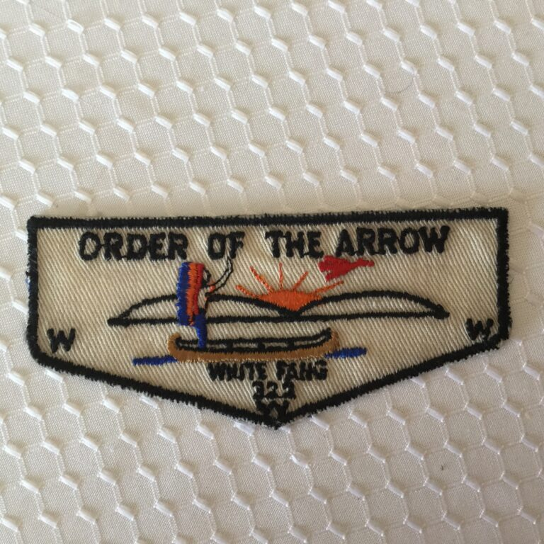 White Fang Lodge 322 Order Of The Arrow Pocket Flap F2