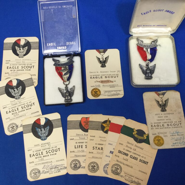 Eagle Scout Medals & Cards