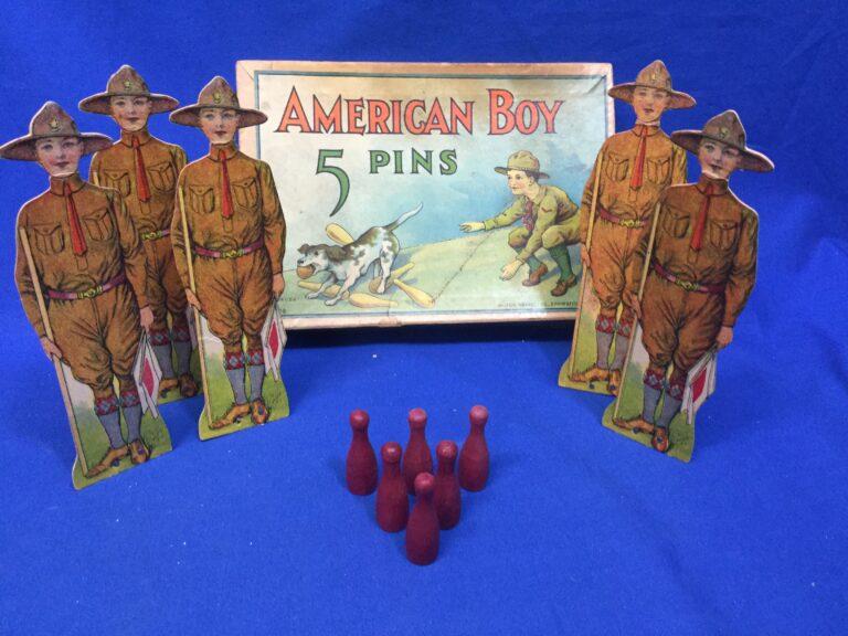 American Boy 5 Pins Game
