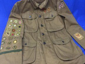 Boy Scout Vintage High Collar Coat