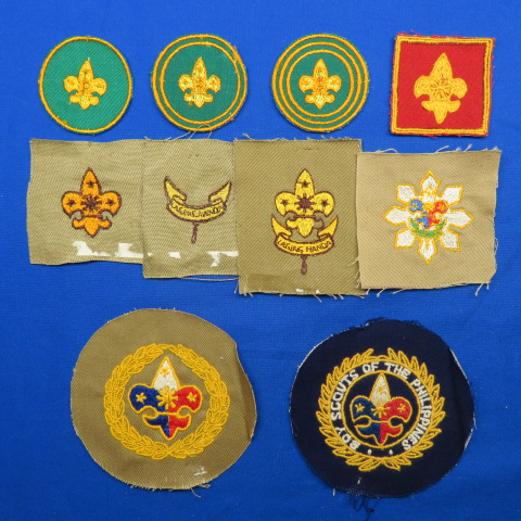 Vintage Philippine Scout Badges