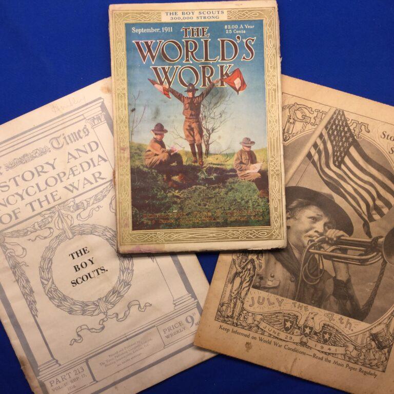 Vintage Scout Magazines