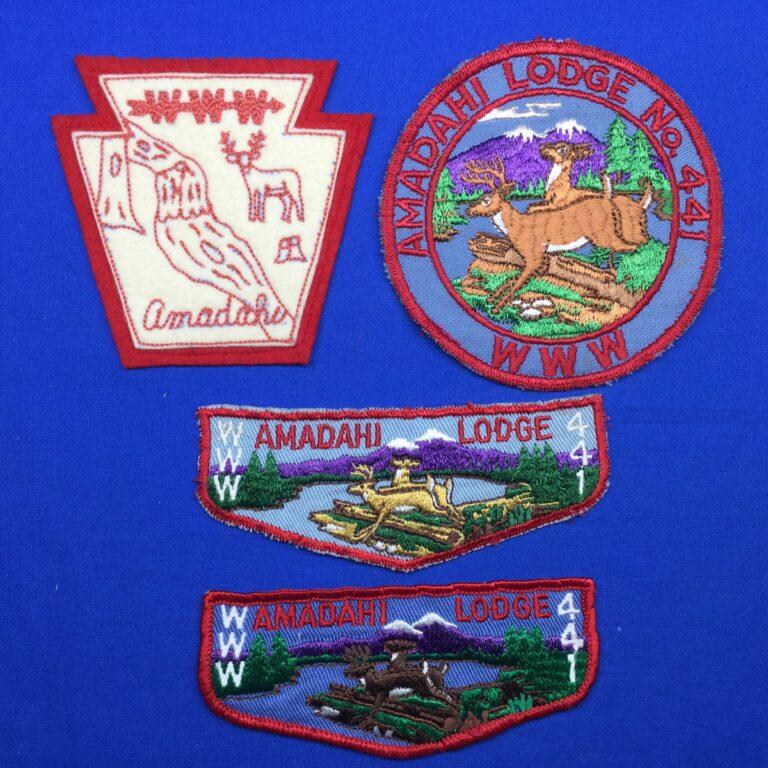 Amadahi OA Lodge 441 Patches