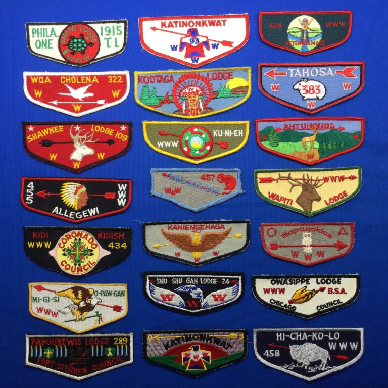 Order OF The Arrow Pocket Flap Patches