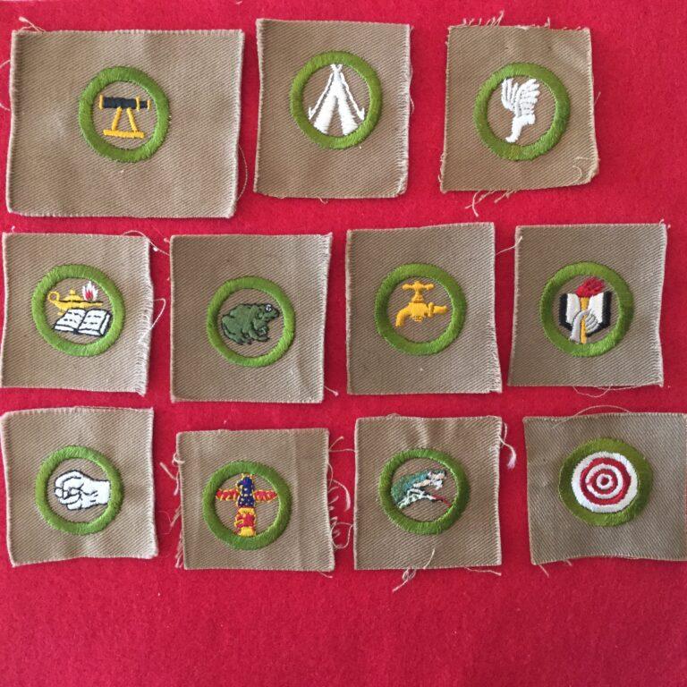 Square Merit Badges