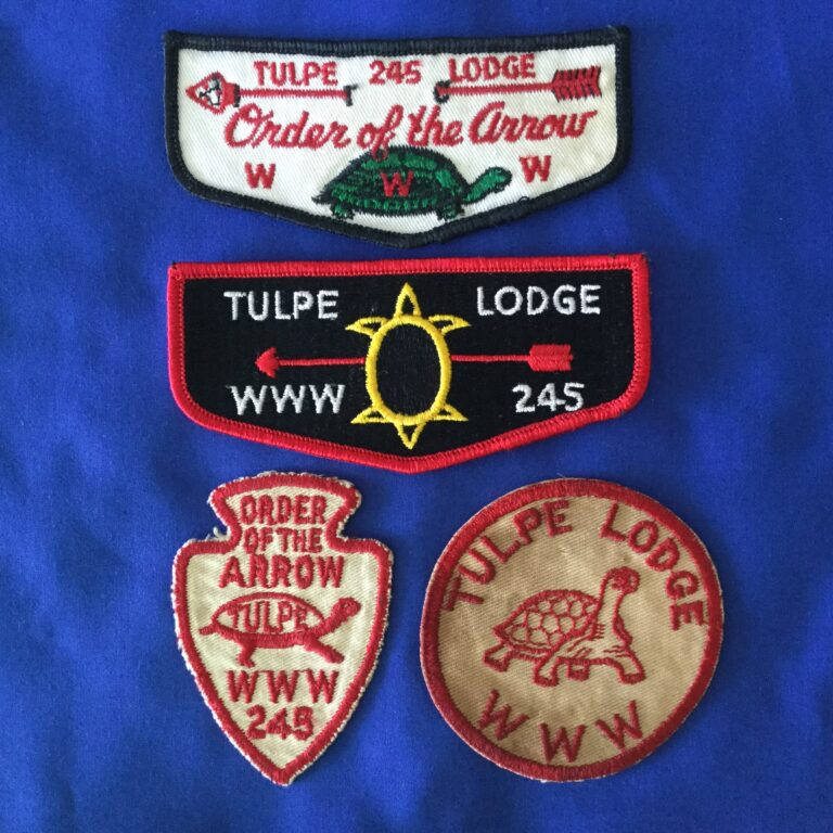 Order Of The Arrow Tulpe Lodge 245
