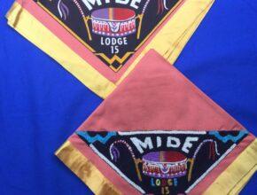 Mide OA Lodge 15 Neckerchiefs