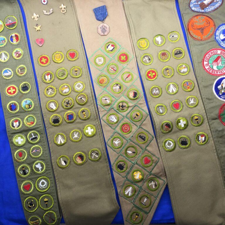 Merit Badge Sashes