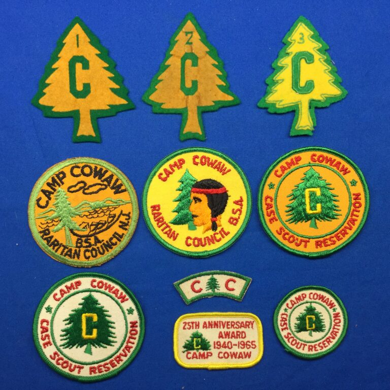 Camp Cowaw Patches