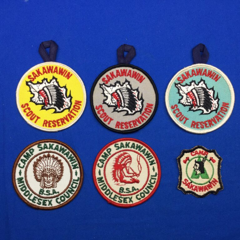 Sakawawin Scout Reservation Patches