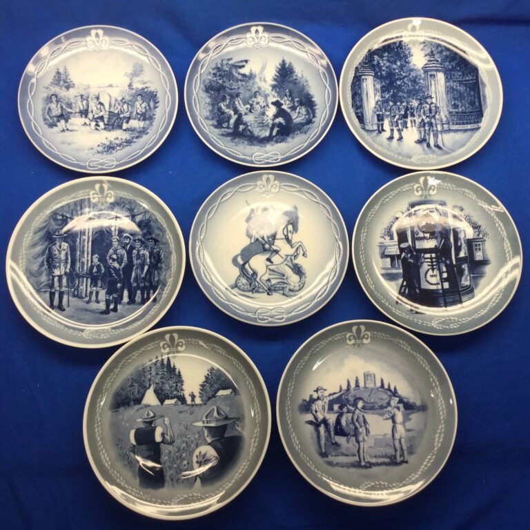 The Fellowship Plate Foundation Scout Plates