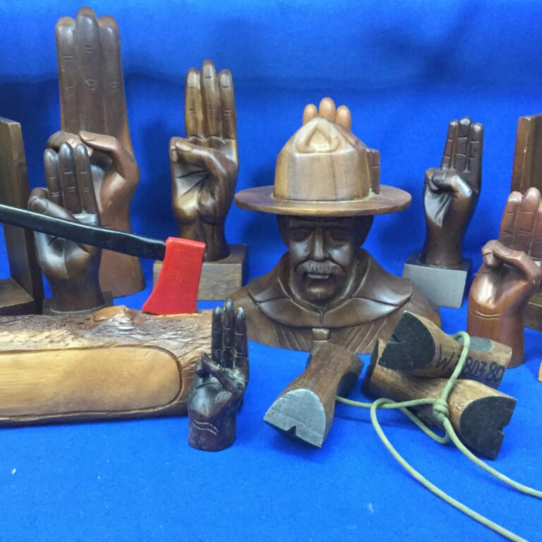 Scout Wood Carvings