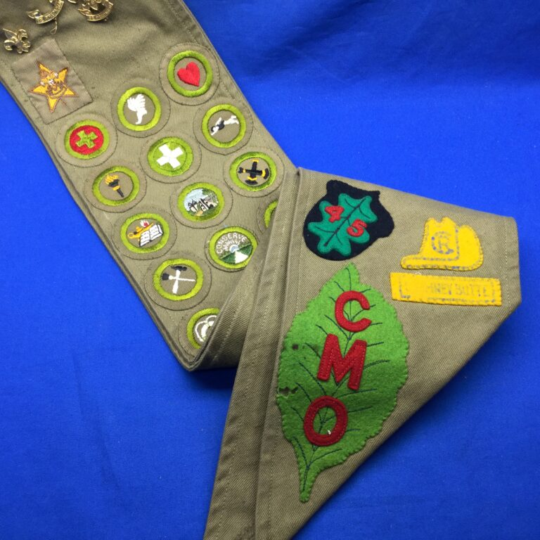 Sash With CMO Clan of the Mystic Oak Patch