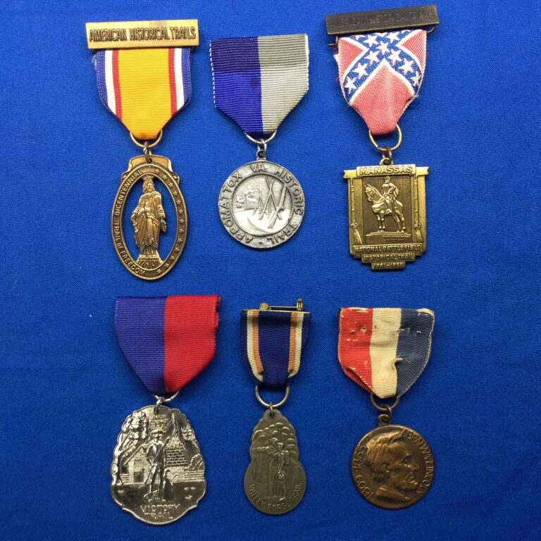 Historic Trail Medals
