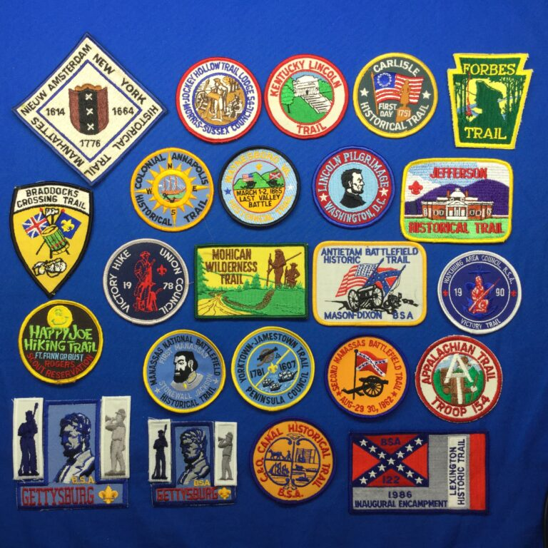 Historic Trail Patches