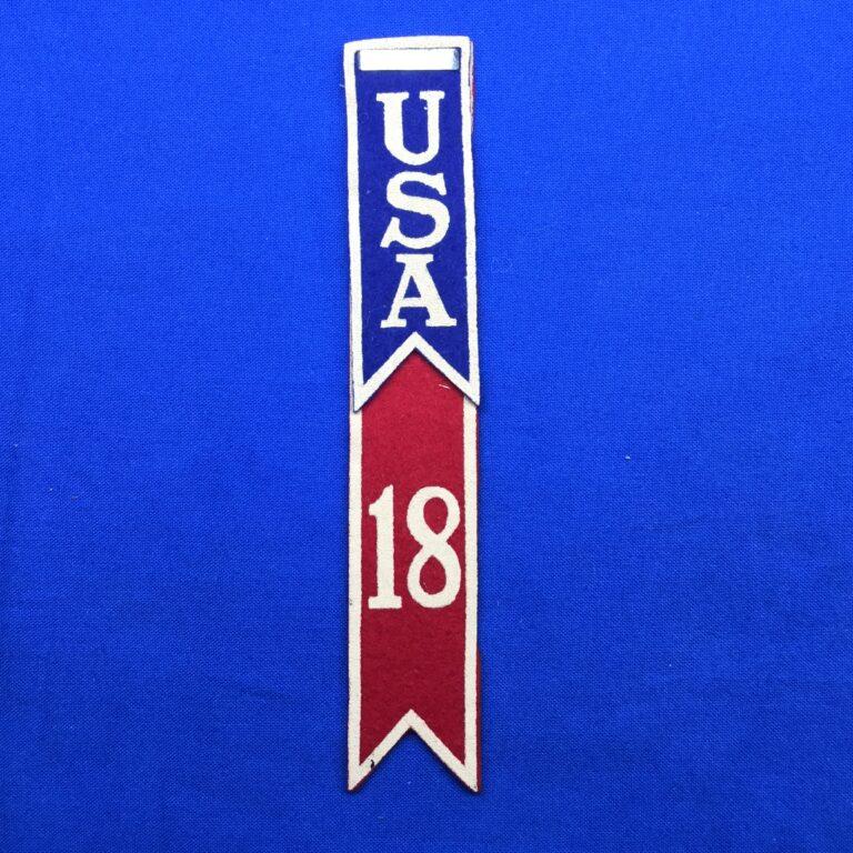 1937 World Jamboree USA Contingent Shoulder Flash