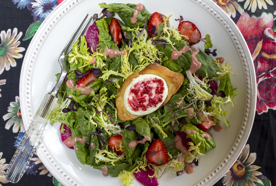 7.6.16 - Strawberry Jam and Salad-10