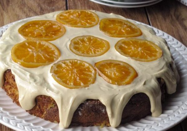 Use to frost my Clementine Cake with Marcona Almonds – a moist, naturally gluten-free dessert