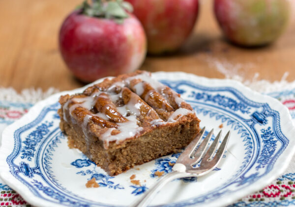 Amazing Caramelized Apple Cake – Gluten Free and Dairy Free