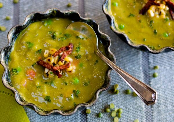 Incredible Instant Pot Split Pea Soup
