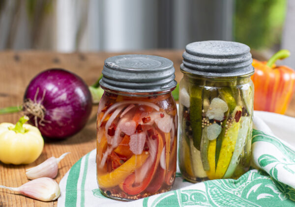 How to Quick Pickle Vegetables