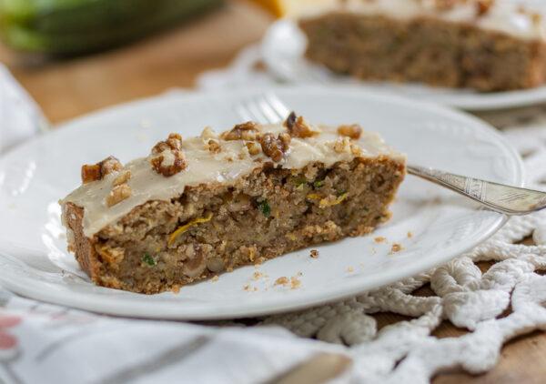 Maple Zucchini Walnut Bread – Gluten Free