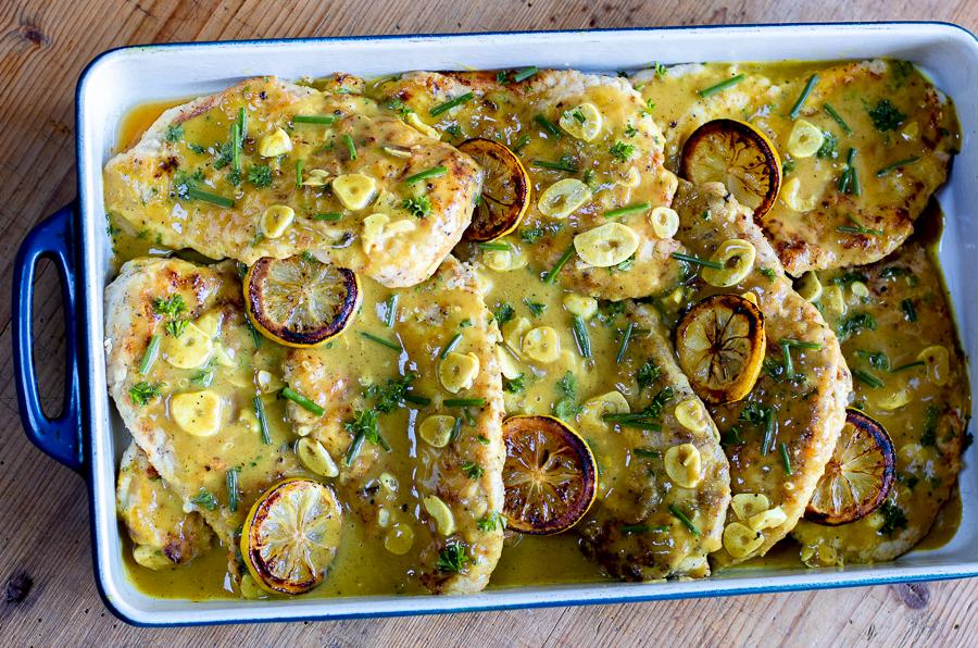 Karen's Weeknight Lemon Chicken