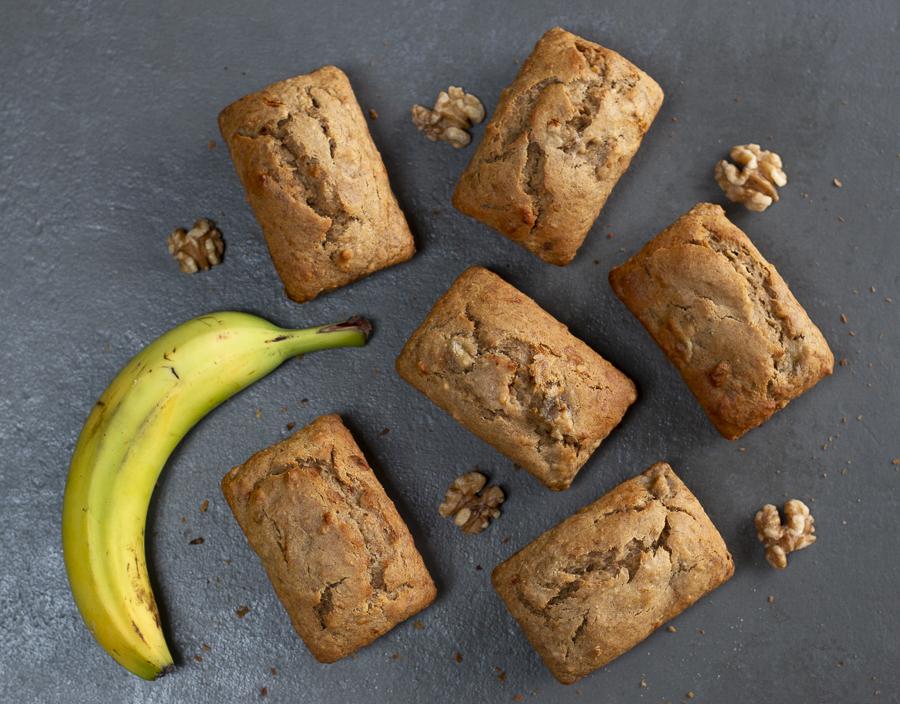 Honey Walnut Banana Bread ~ Gluten Free