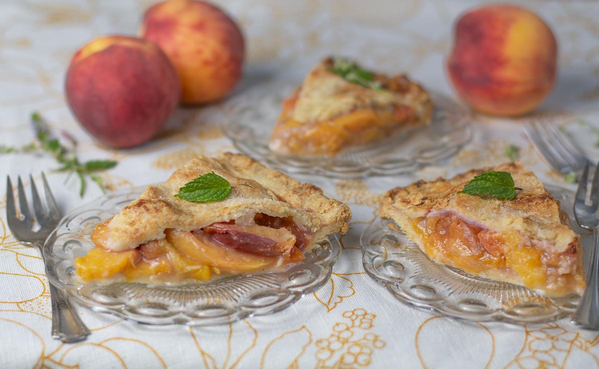Three slices - Perfect Peach Pie