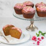 Raspberry Glazed Honey Cake for Rosh Hashanah and beyond!