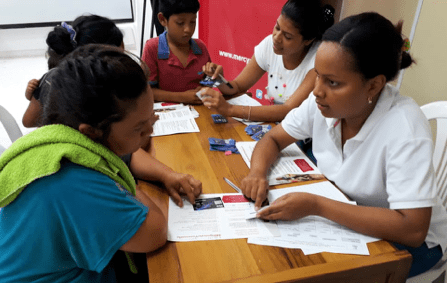 Bastion made possible additional funding for the Direct Cash program Mercy Corps is implementing in Colombia.