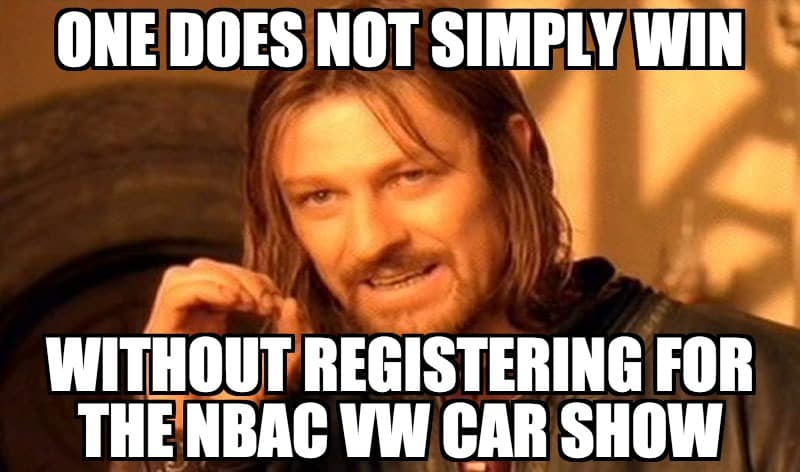 CAr Show Categories - simply win