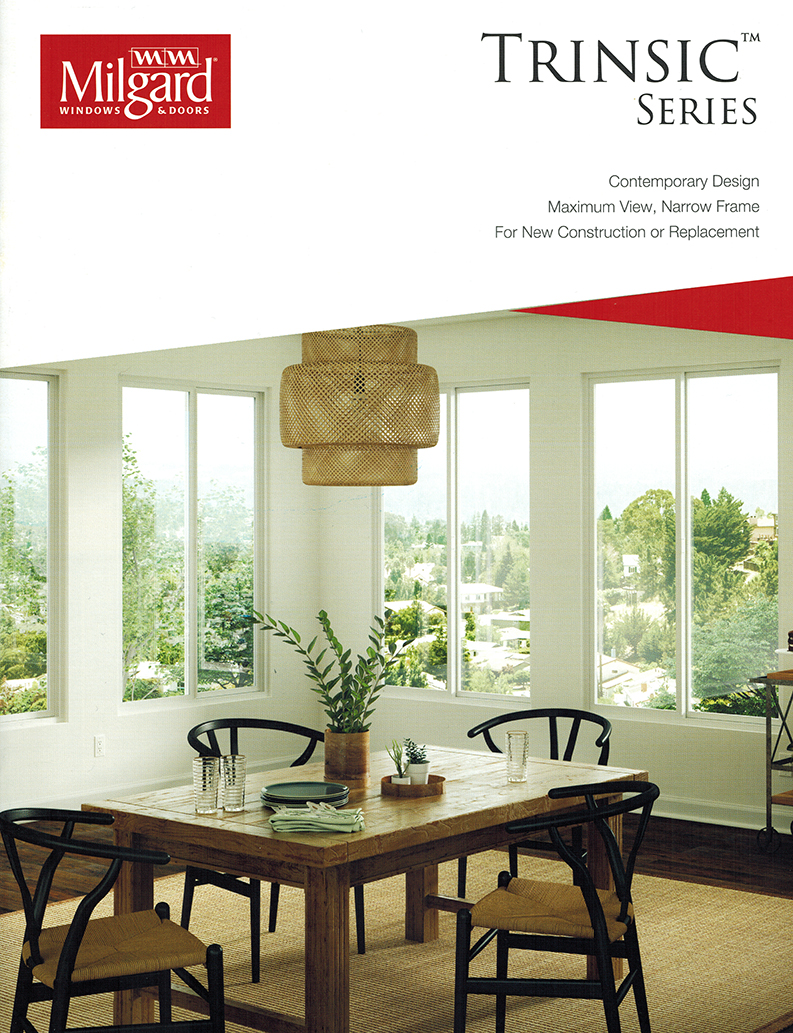 Milgard Trinsic Series Catalog