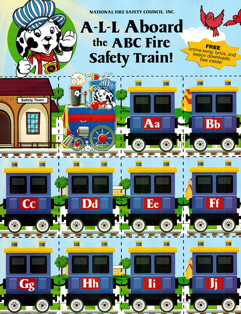 All Aboard the ABC Fire Safety Train