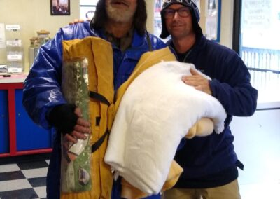 Tent given to homeless man