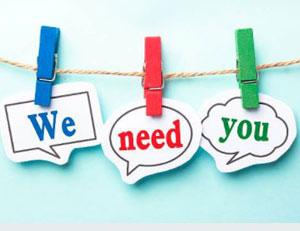 Volunteer - we need you