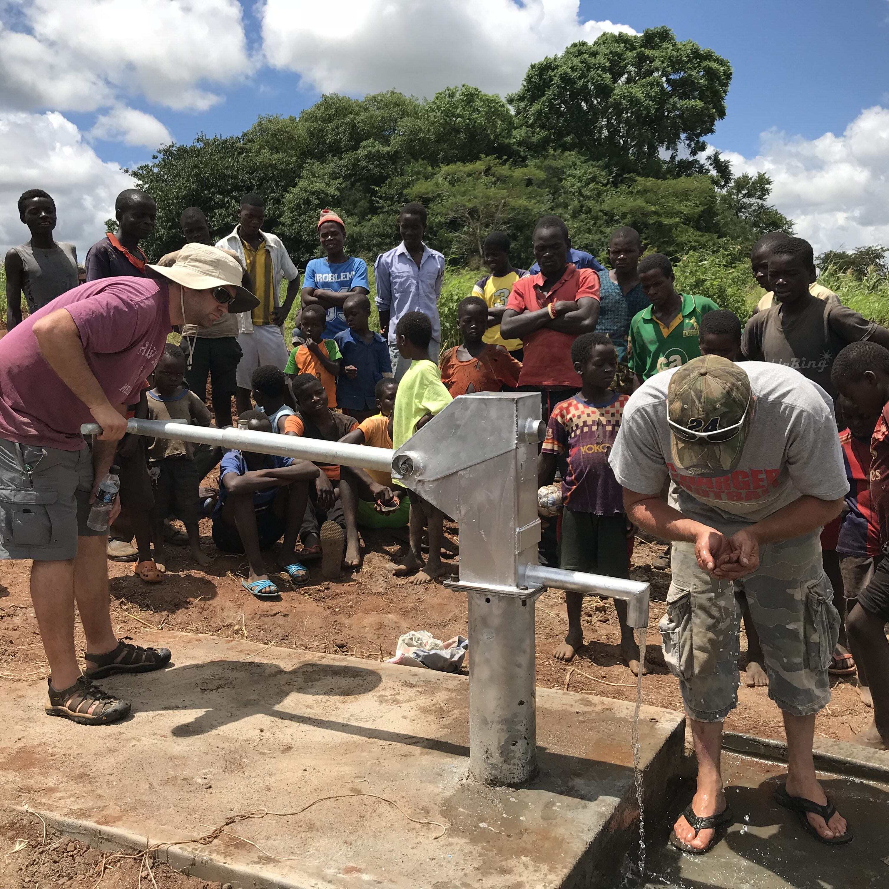 Borehole completed 2018 (Feb) Chimoto Village